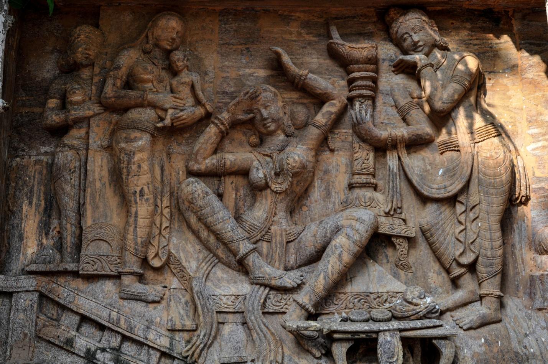 забор малазийских мастеров в Бодхгая, Индия