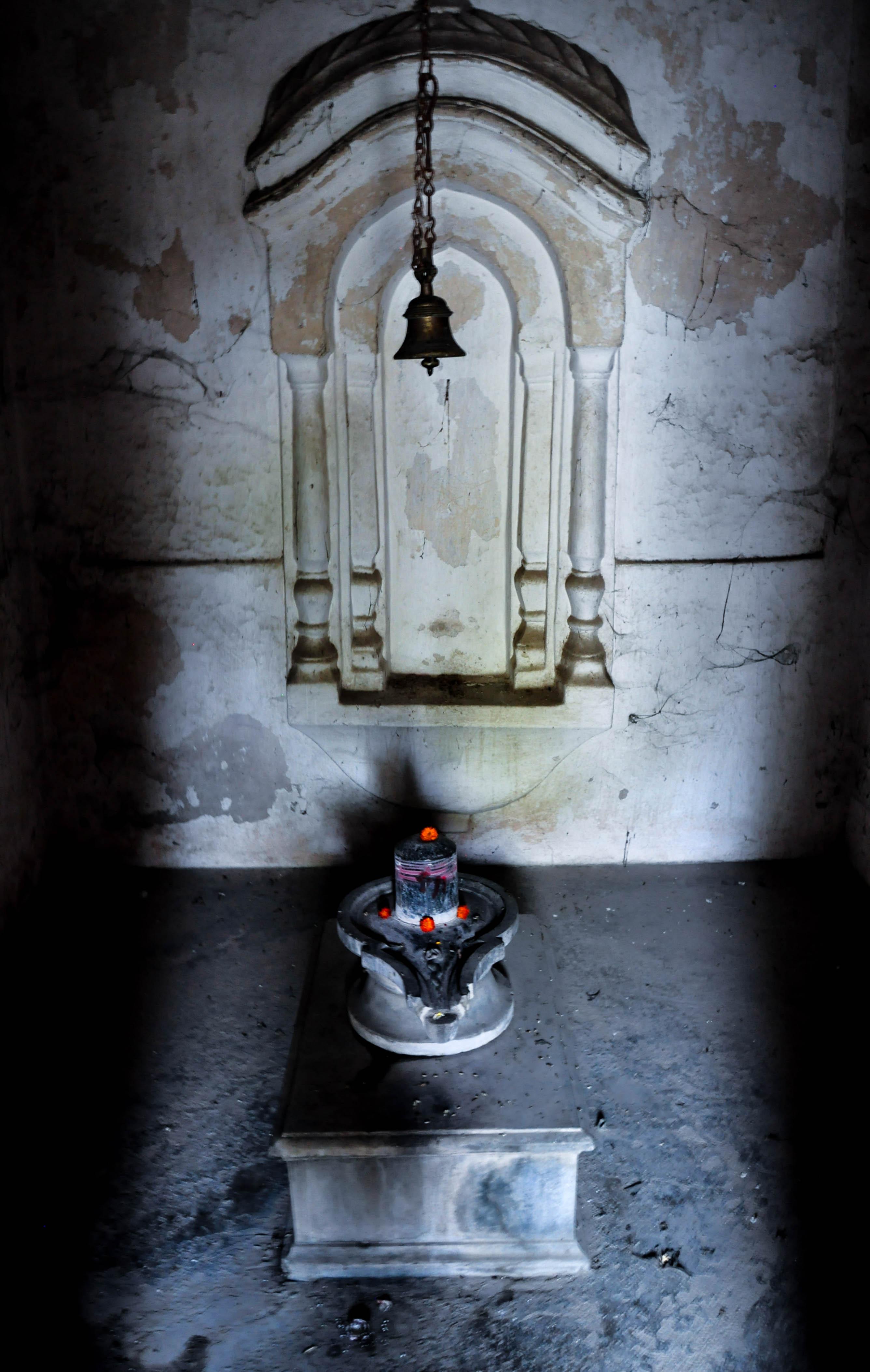 В храме Маа-Багга-Деви-Сарасвати, Бодхгая, Индия