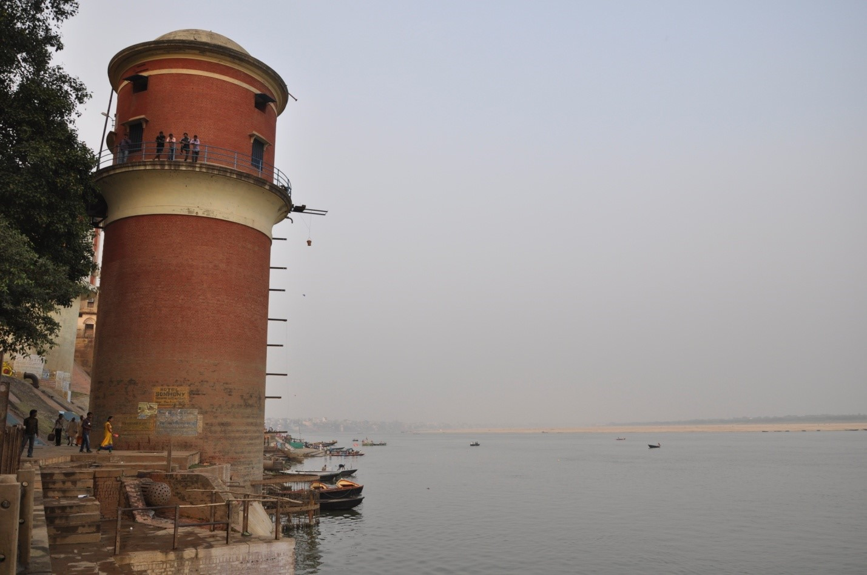 Набережная в Варанаси, Индия
