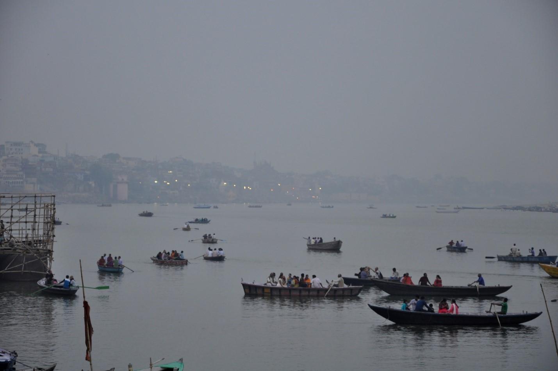 лодки в Варанаси, Индия