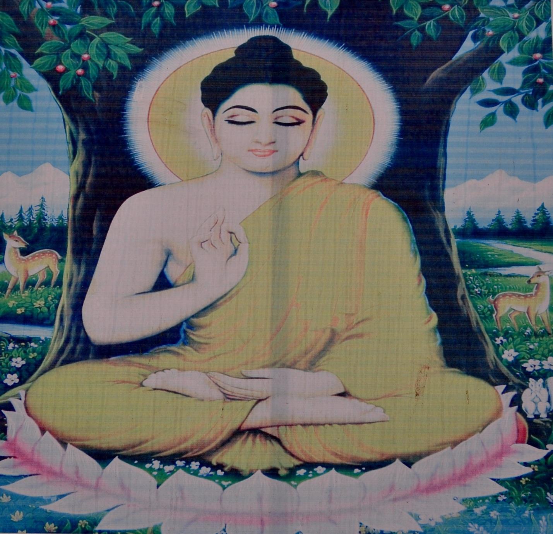 Изображение Будды в Индии