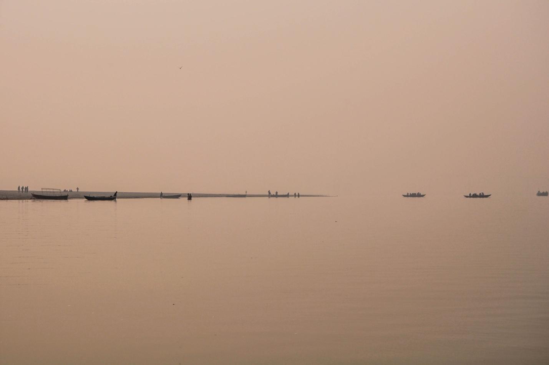 Река Ганг, Варанаси, Индия