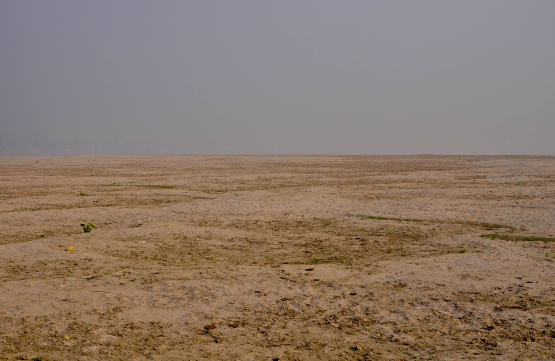 противоположный берег Ганга, Варанаси, Индия