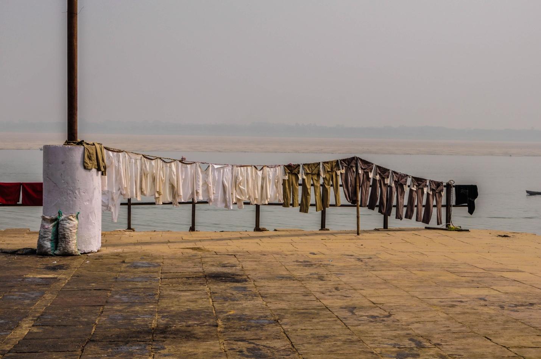 набережная Варанаси и река Ганг, Индия