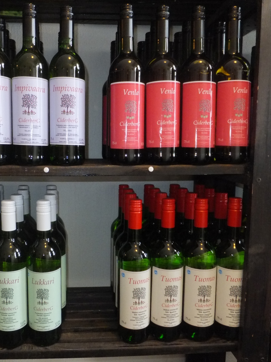 бутылки вина в финляндии