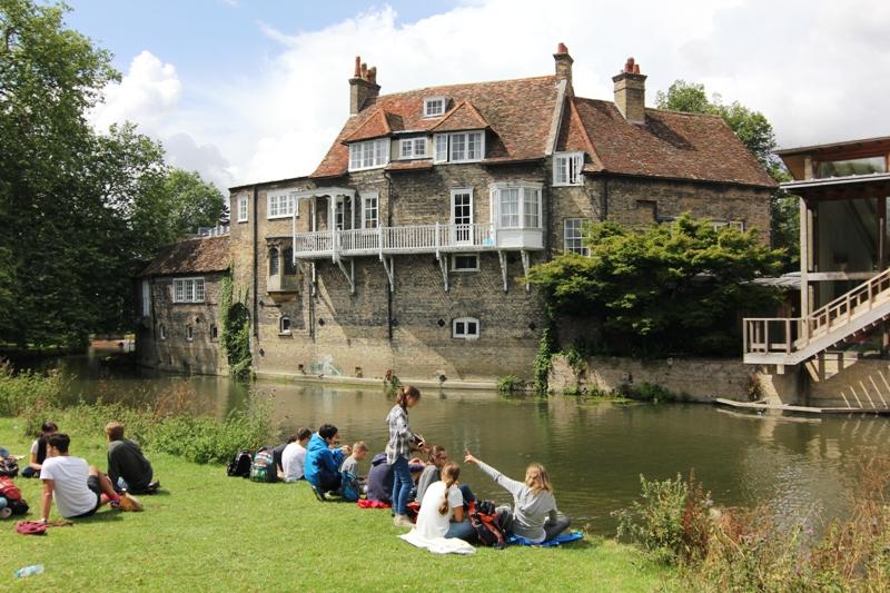Речка Кам в Кембридже