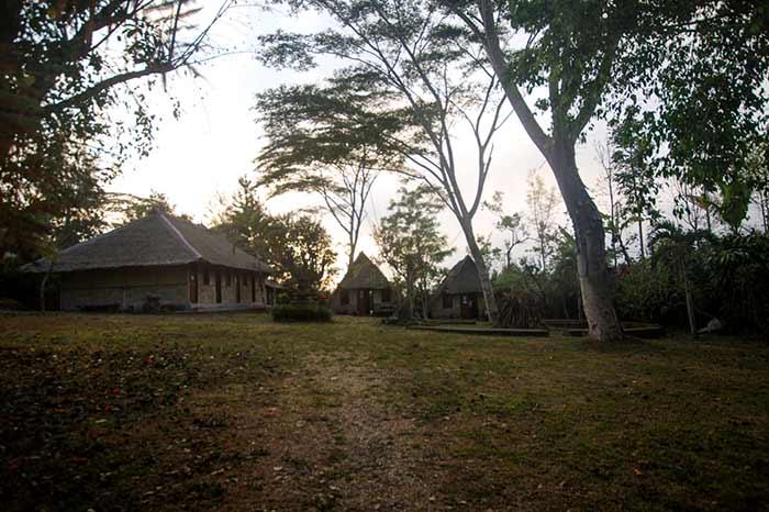 деревня на Бали