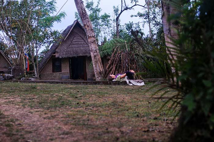 домик в деревне на Бали