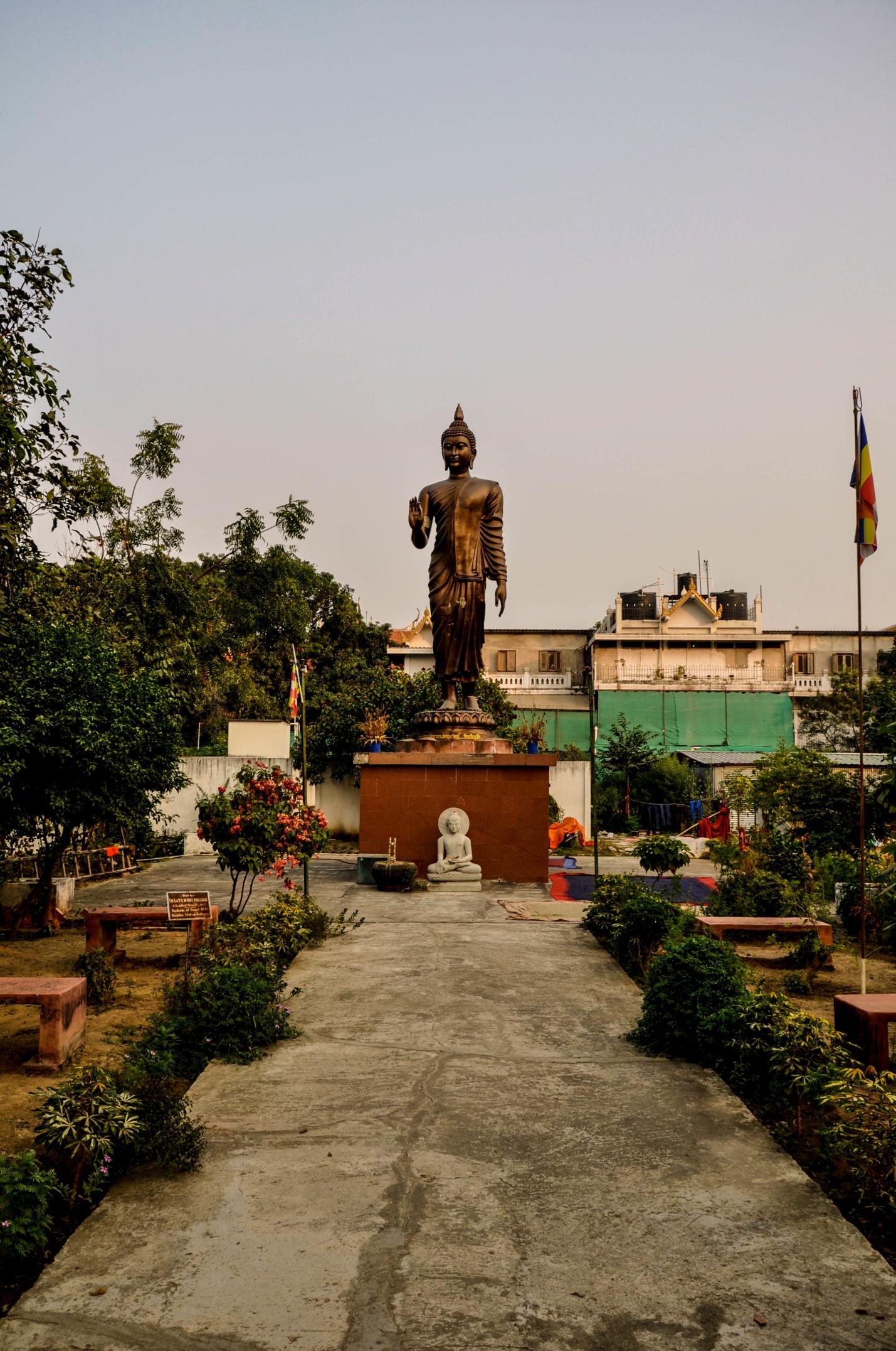 Двор колледжа Шакьямуни, Бодхгая, Индия