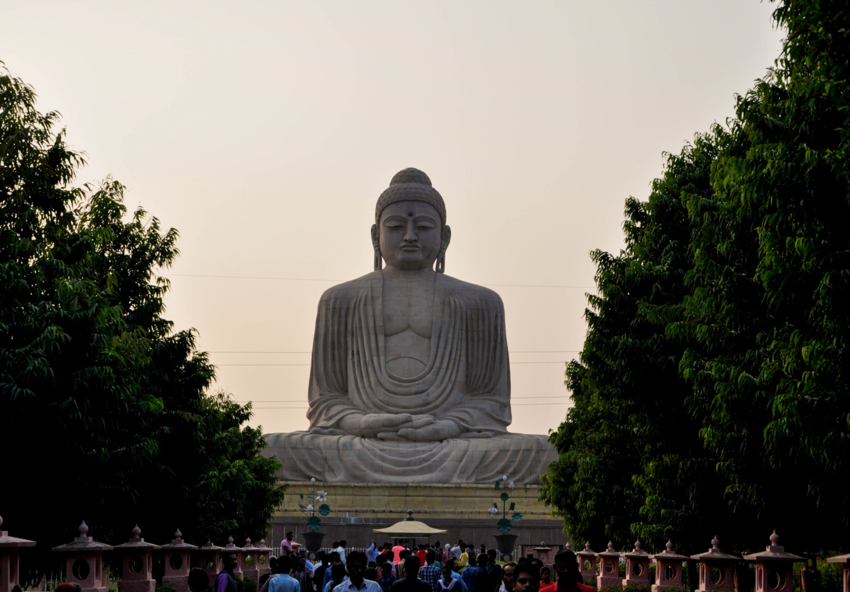 Большая статуя Будды в Бодхгая, Индия