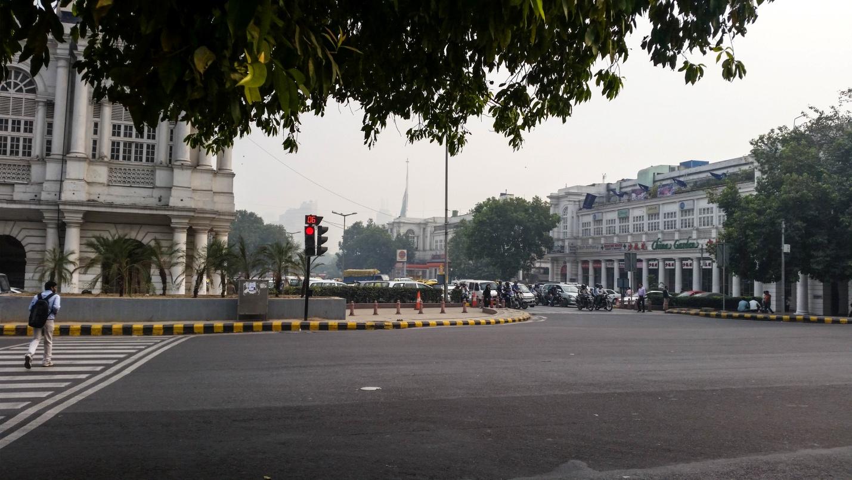Улица в Дели, Индия