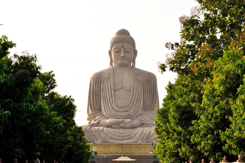 Большая статуя Будды, Бодхгая, Индия
