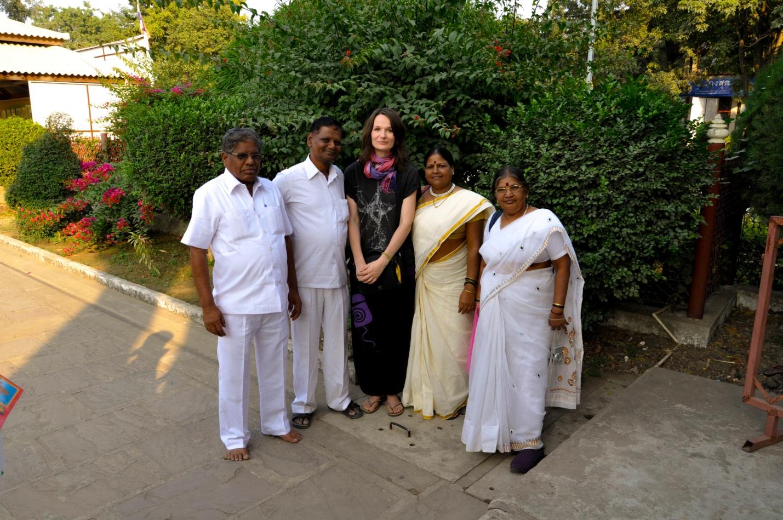 Анна с индусами