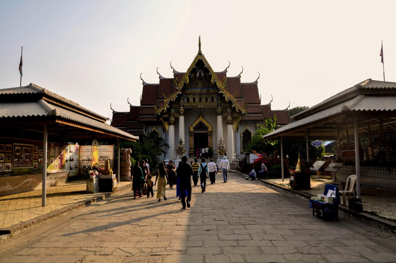 Тайский храм в Бодхгая, Индия