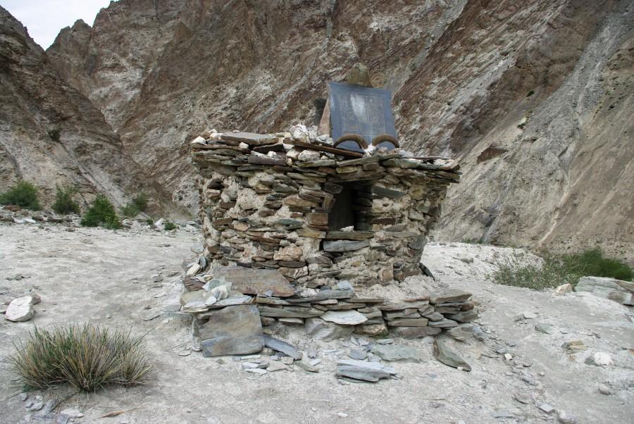Постройки в горах, Гималаи, Индия