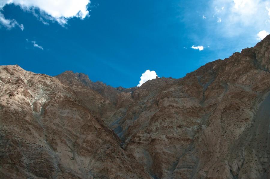 Горы и небо, Гималаи, Индия