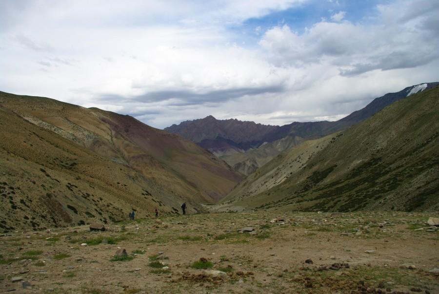 Природа, горы и русские туристы в Ладакхе, Гималаи