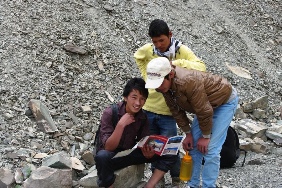 Туристы в Ладакхе