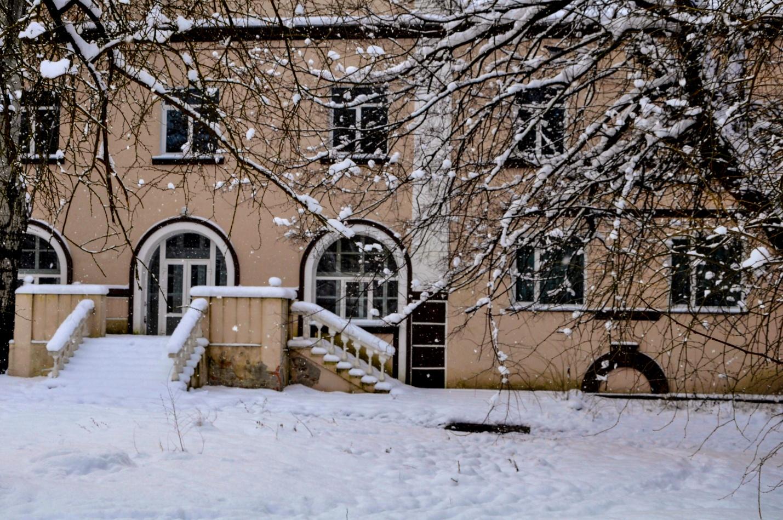 Дом в заснеженной Керчи, Крым