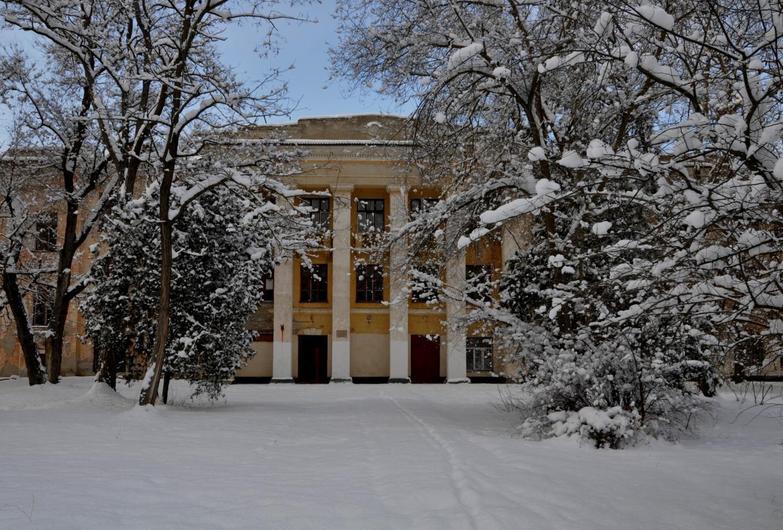 Заснеженная Керчь, Крым