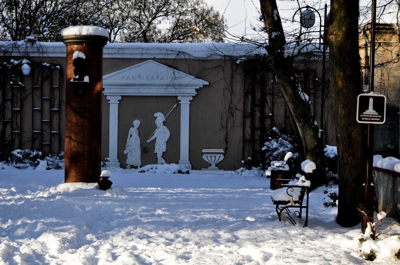 Памятник у горы Митридат, Керчь, Крым