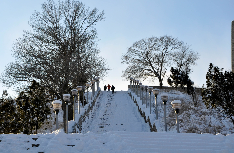 Лестница на горе Митридат, Керчь, Крым