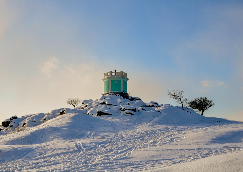 На вершине горы Митридат, Керчь, Крым