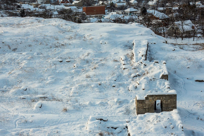 Руины на горе Митридат, Керчь, Крым