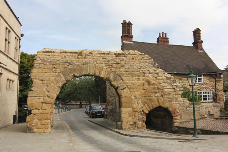 Римские ворота Ньюпорт, Линкольн, Англия