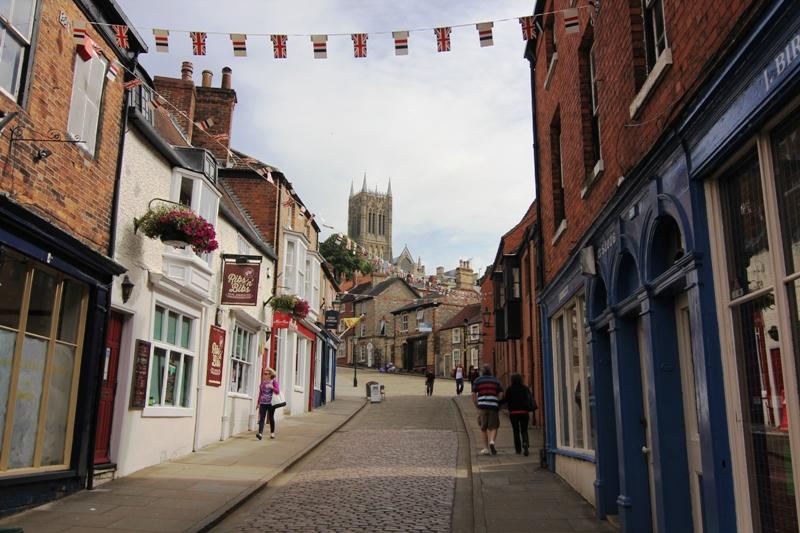 Тихие улочки Линкольна, Англия