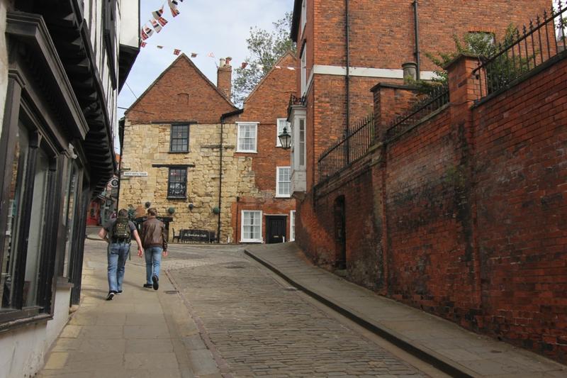 Тихая улочка, Линкольн, Англия