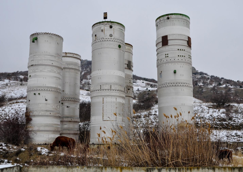 Заброшенные сооружения в Крыму