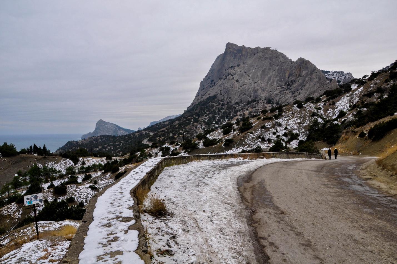 Дорога в Новый Свет, Крым