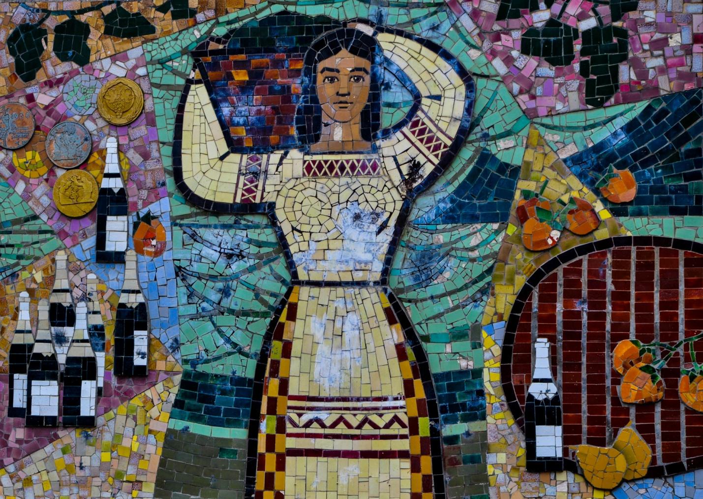 Мозайка в Новом Свете, Крым