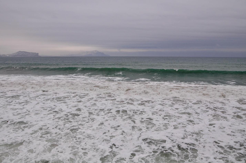 Зимнее море. Новый Свет, Крым