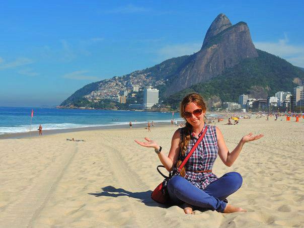 Пляж в районе Леблон, Рио-де-Жанейро