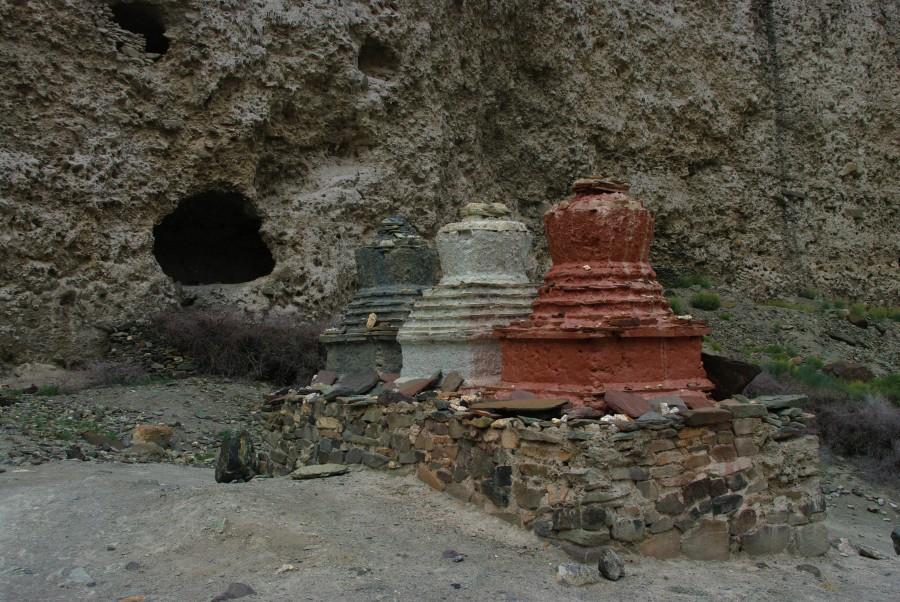 Постройки в горах Гималаев