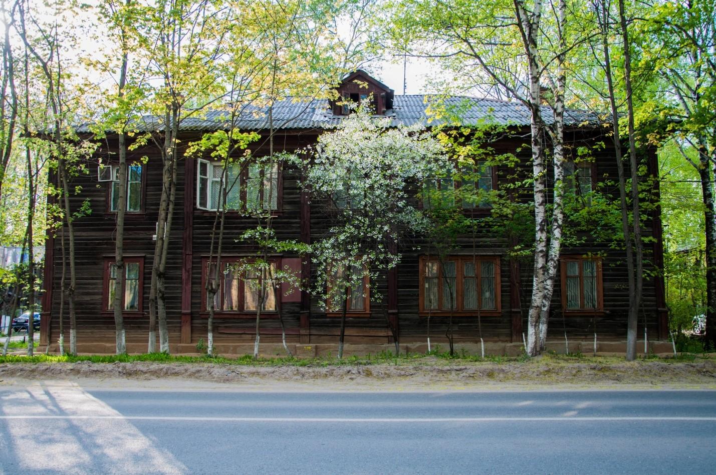 Старый дом в Брусках, Подмосковье