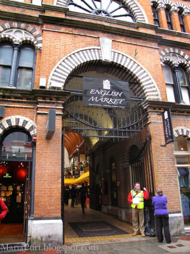 Английский рынок в Корке, Ирландия