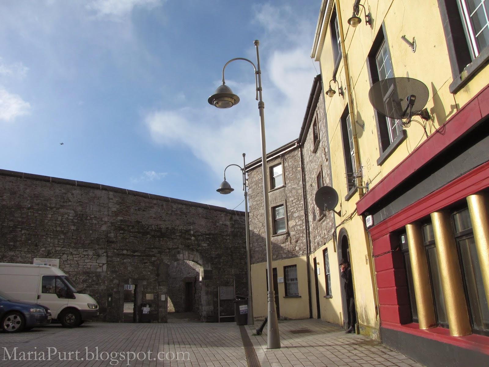 Уютная улочка в Корке, Ирландия