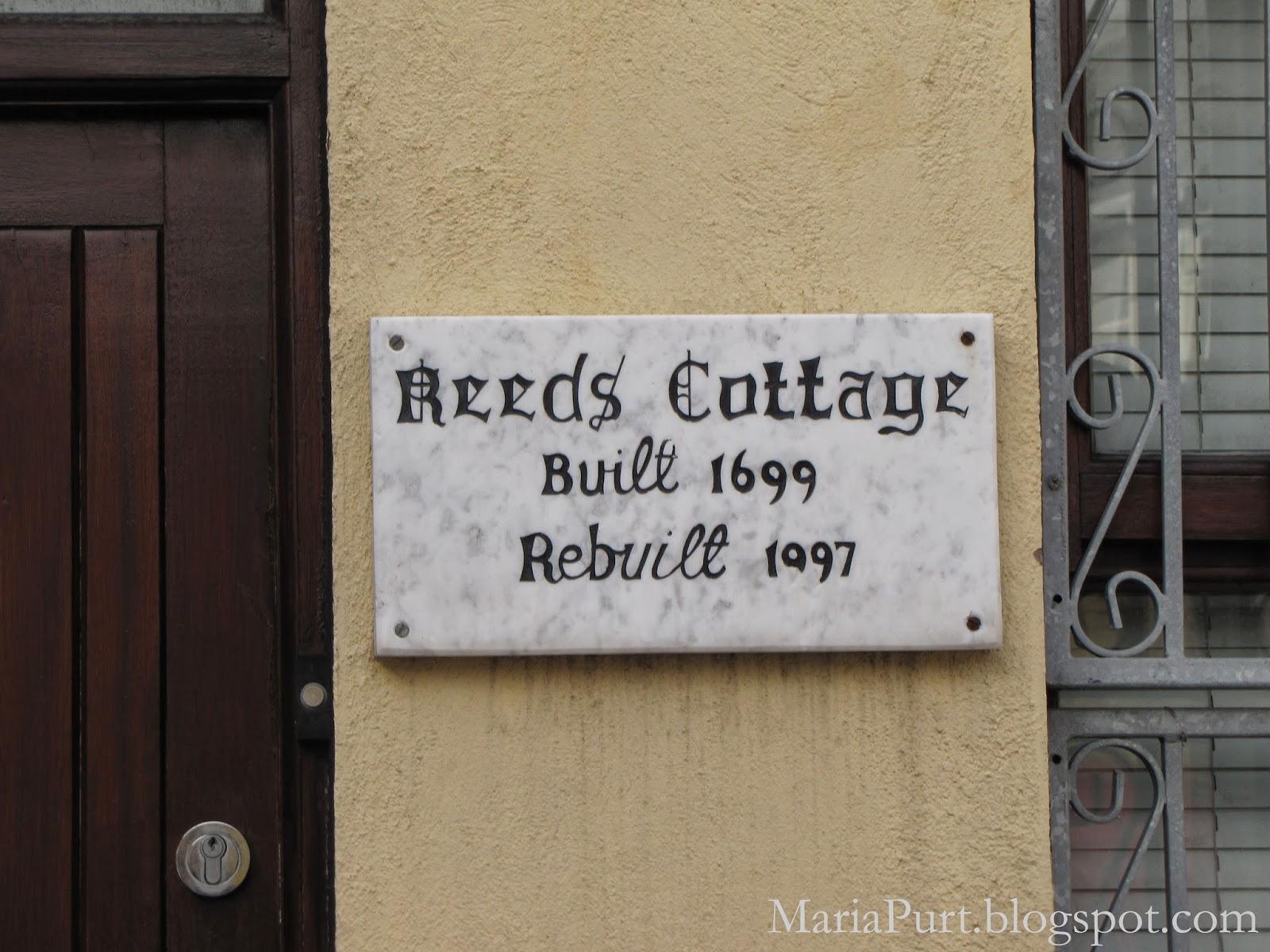 Табличка на доме с датой строительства, Корк, Ирландия