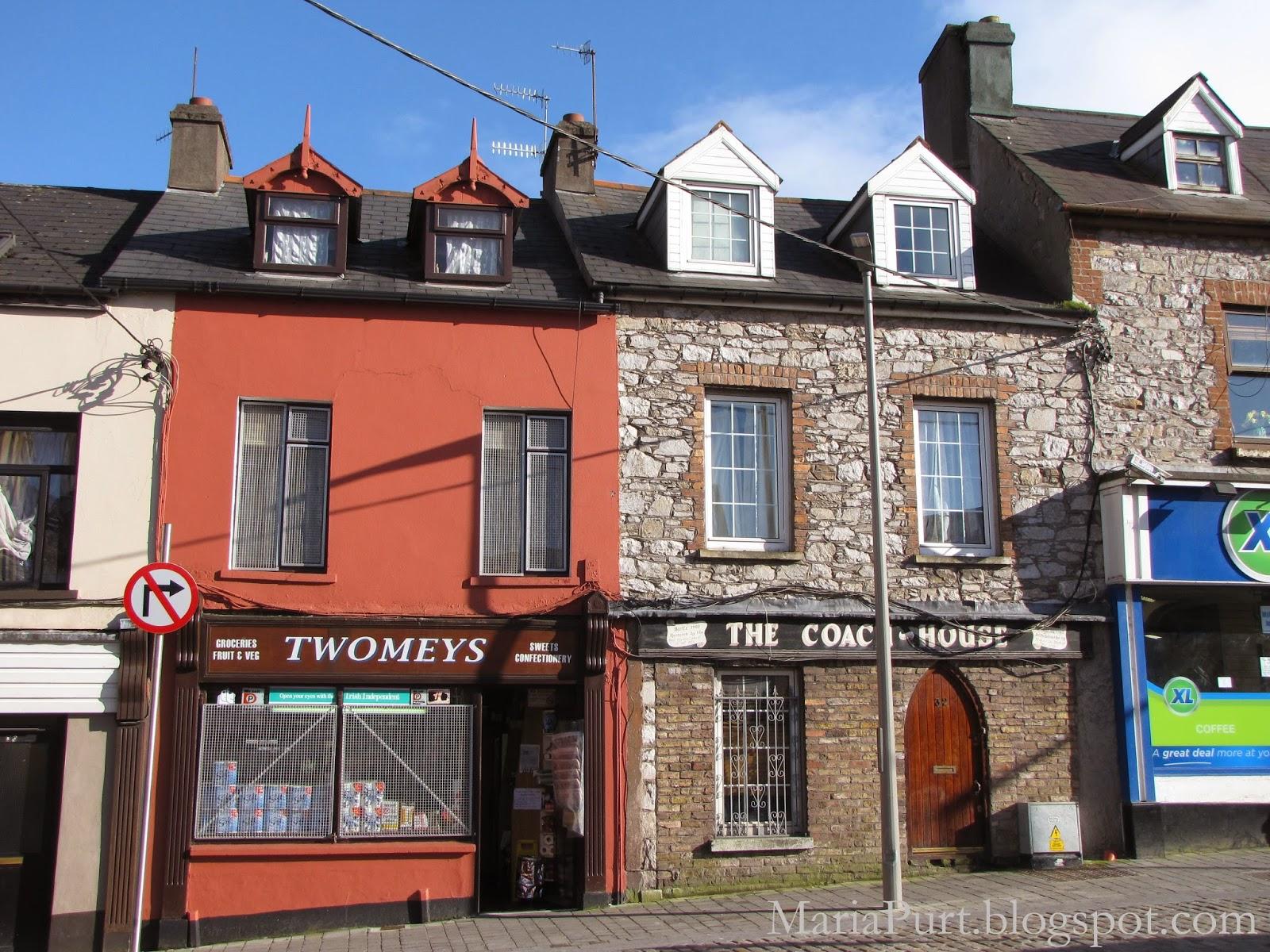 Старые дома в Корке, Ирландия