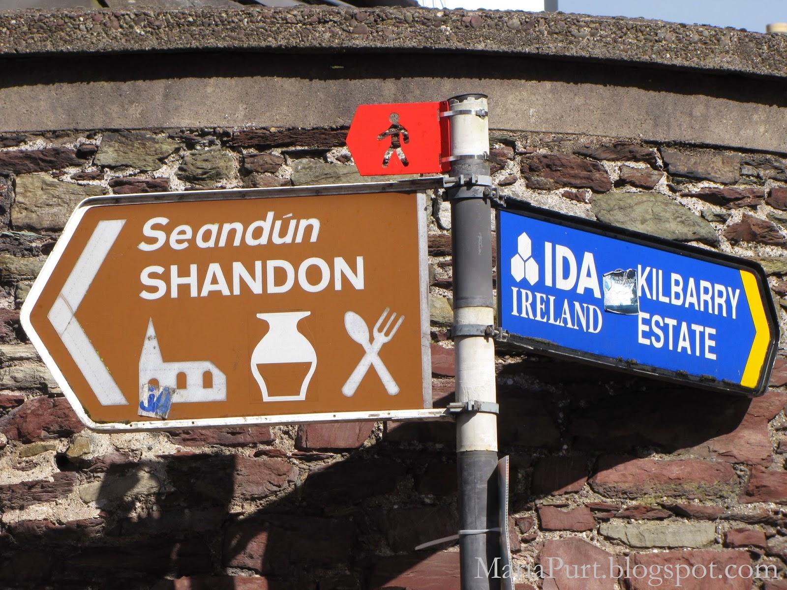 Городские указатели, Корк, Ирландия