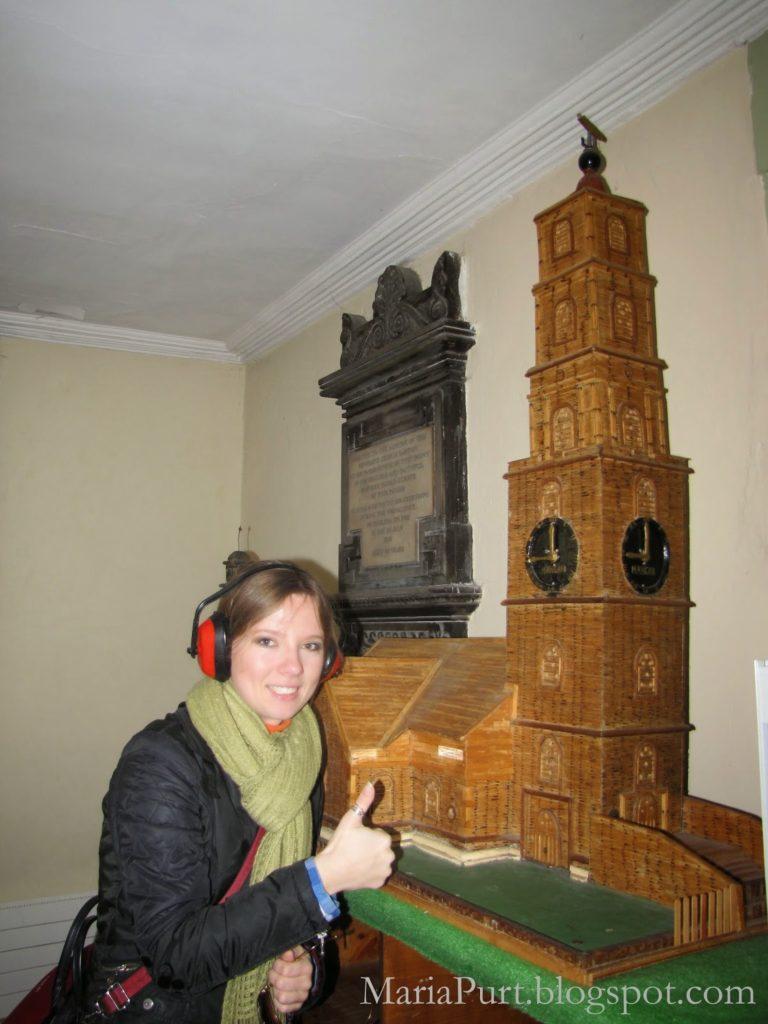 Деревянный макет церкви в Корке, Ирландия