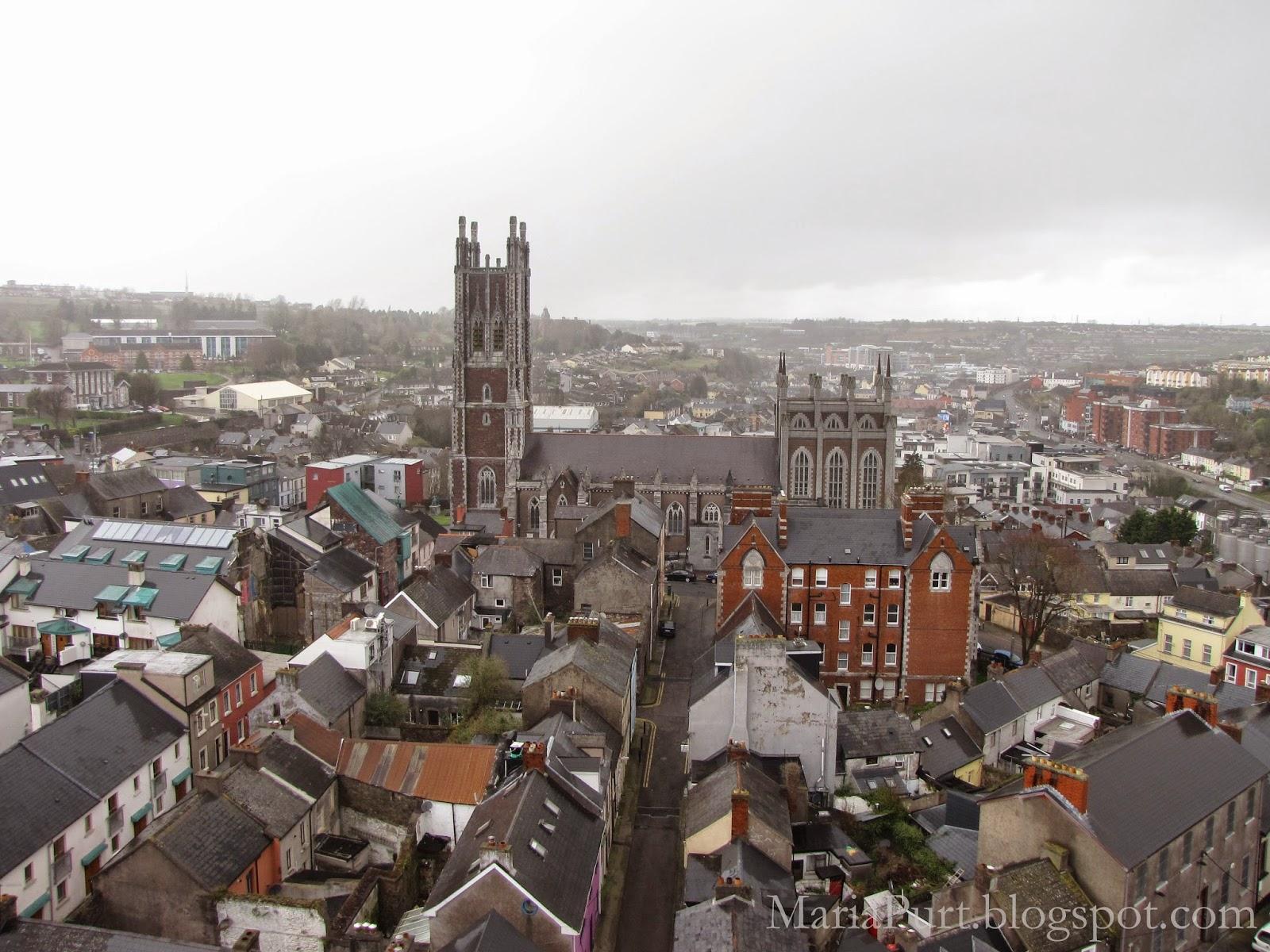 Панорамный вид на Корк, Ирландия