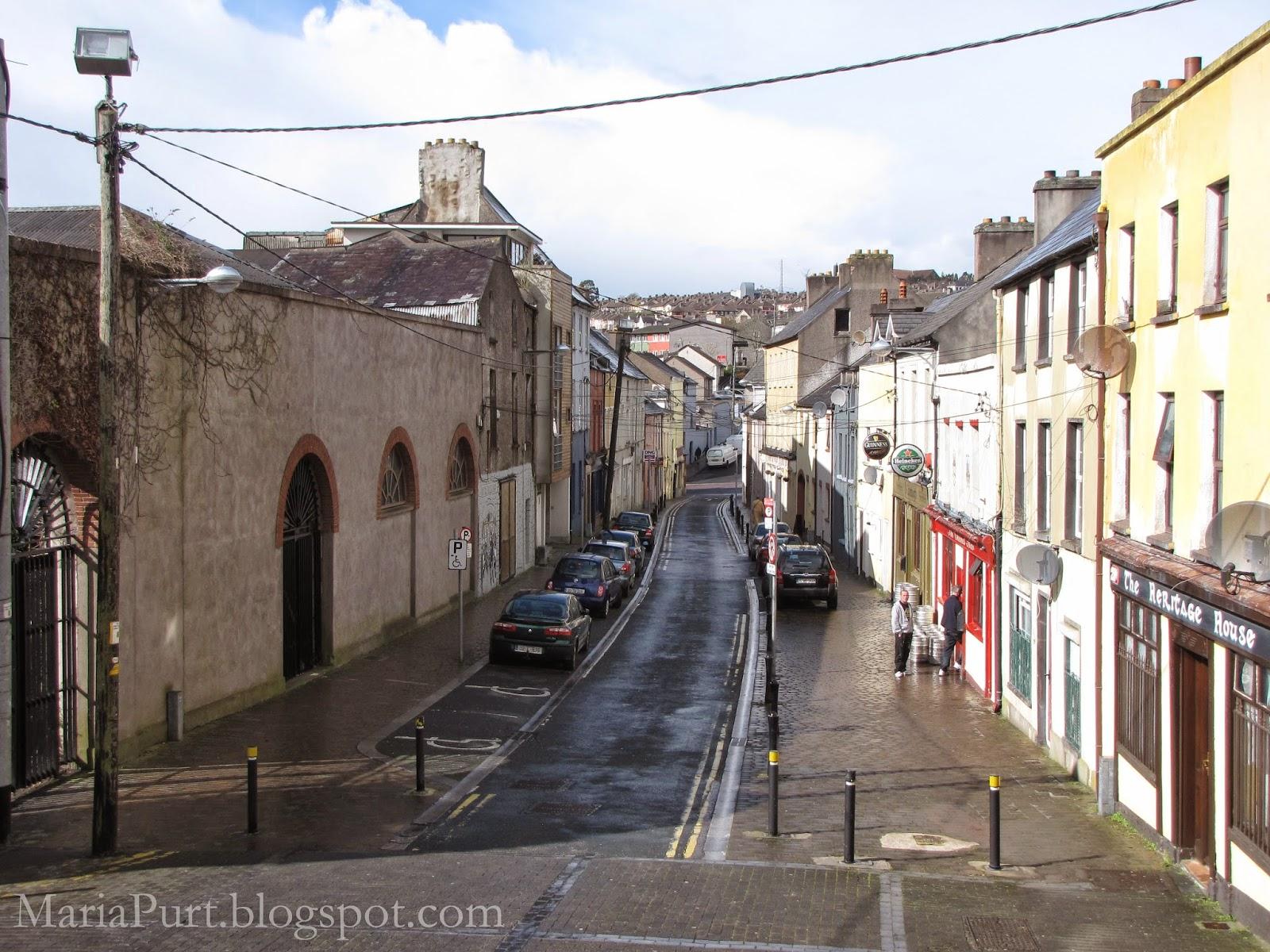 Утренняя улочка в Корке, Ирландия
