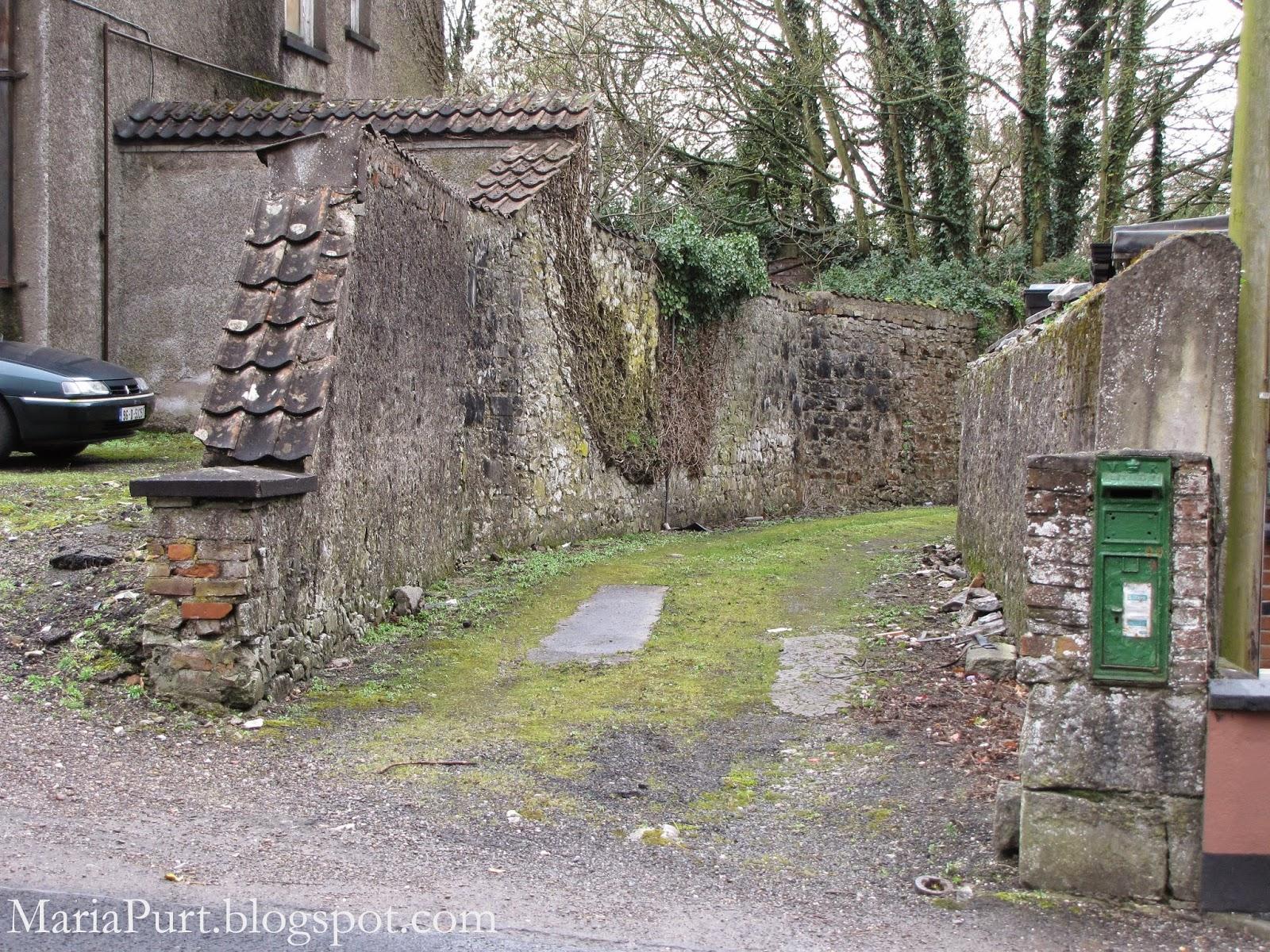 Каменный забор в Корке, Ирландия