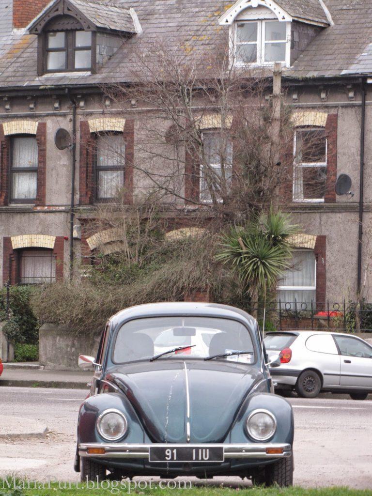 Старый Фольксваген Жук в Корке, Ирландия