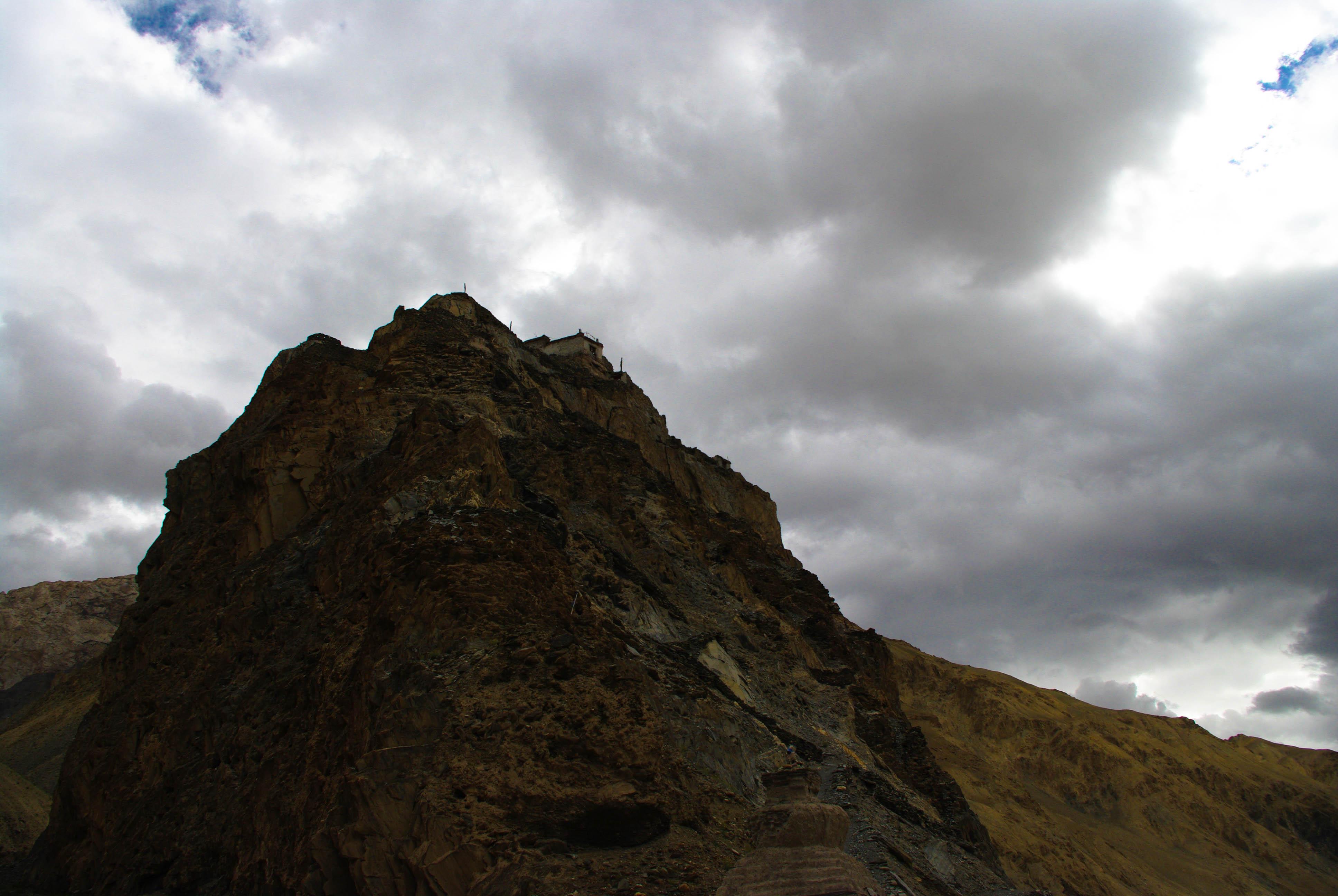 Горы и небо в Гималаях