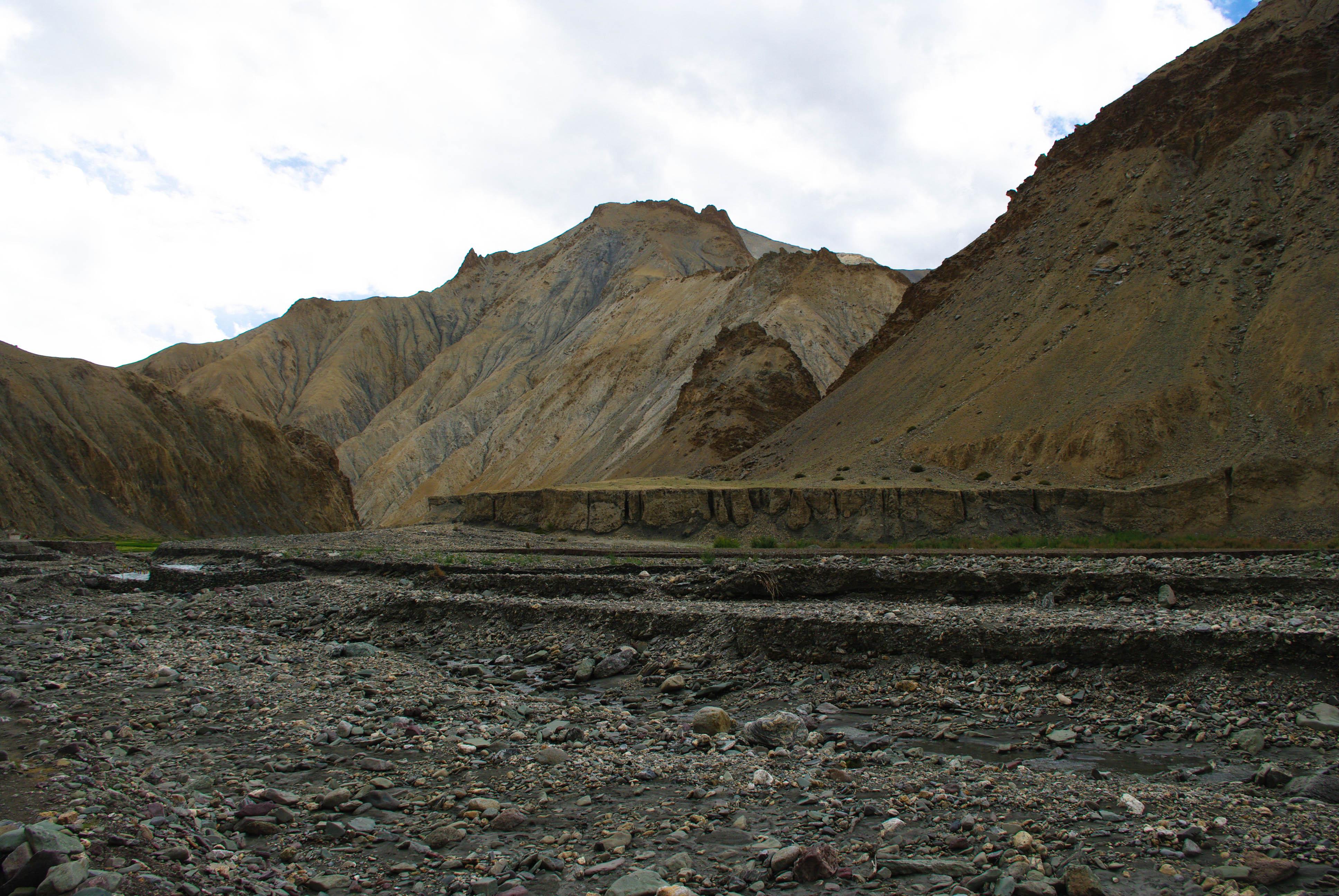 Горный пейзаж в Гималаях